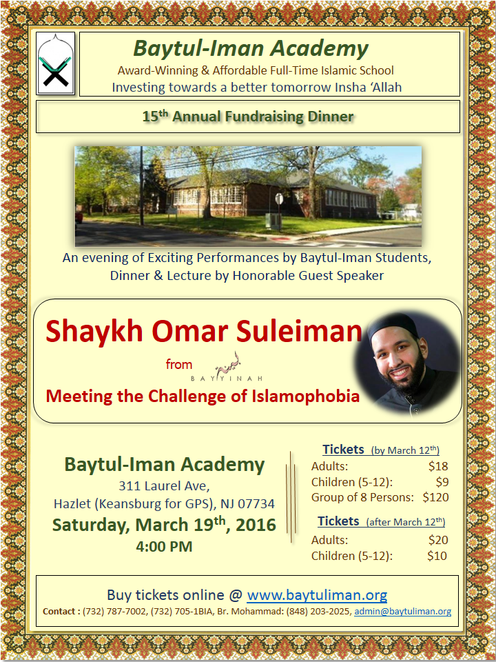 15th Annual Fundraising Dinner